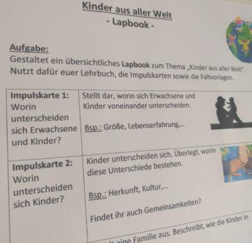"""Lapbook """"Kinder aus aller Welt"""""""