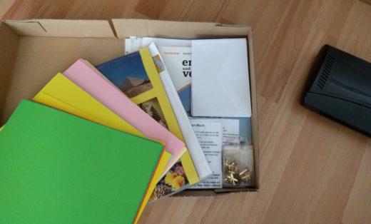 Vorbereitung der Lapbooks