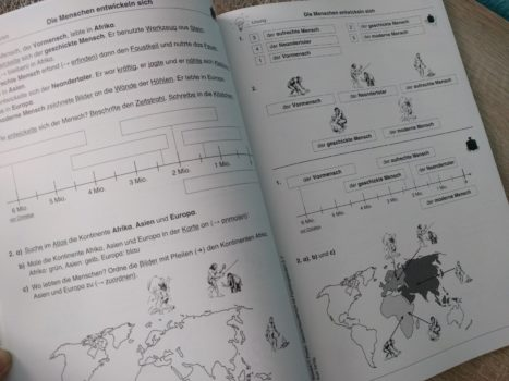 Produkttest - Arbeitsblätter